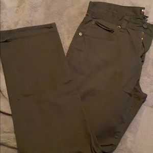 Kirkland (Costco) Brand dark green pants